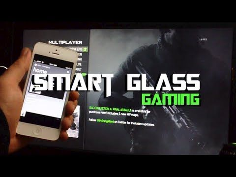Xbox 360 Smart Glass App Gaming Demo For iPhone, iPod