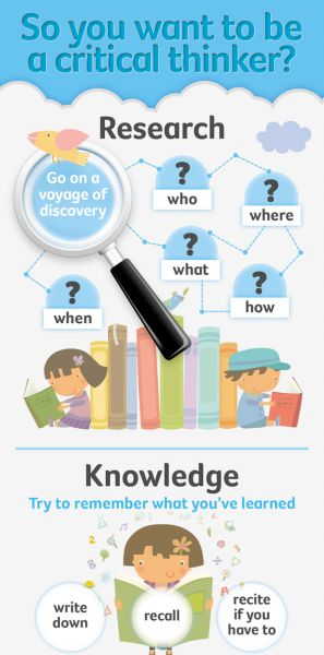 Help Your Students Develop Critical Thinking Skills Infographic