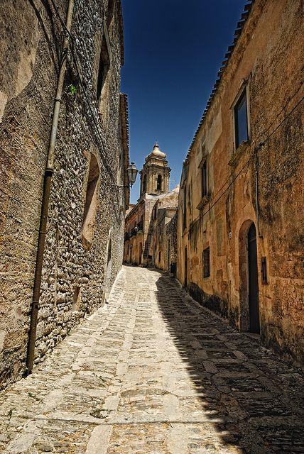 Antica Erice ,Sicily ~ by Fabio Montalto Trapani  italy