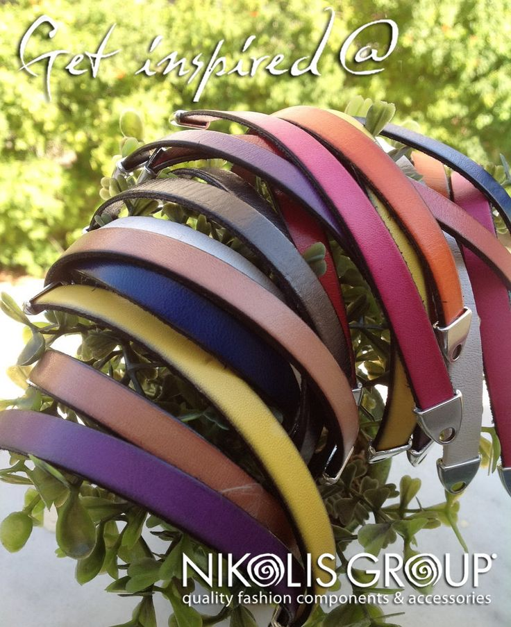 leather flat cords 10mm in many many colors!find them @Wendy Werley-Williams.nikolisgroup.com (Item code:77010091)