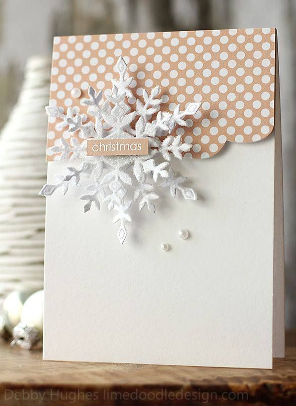 1000 images about paper craft ideas on pinterest gift for Elegant homemade christmas cards