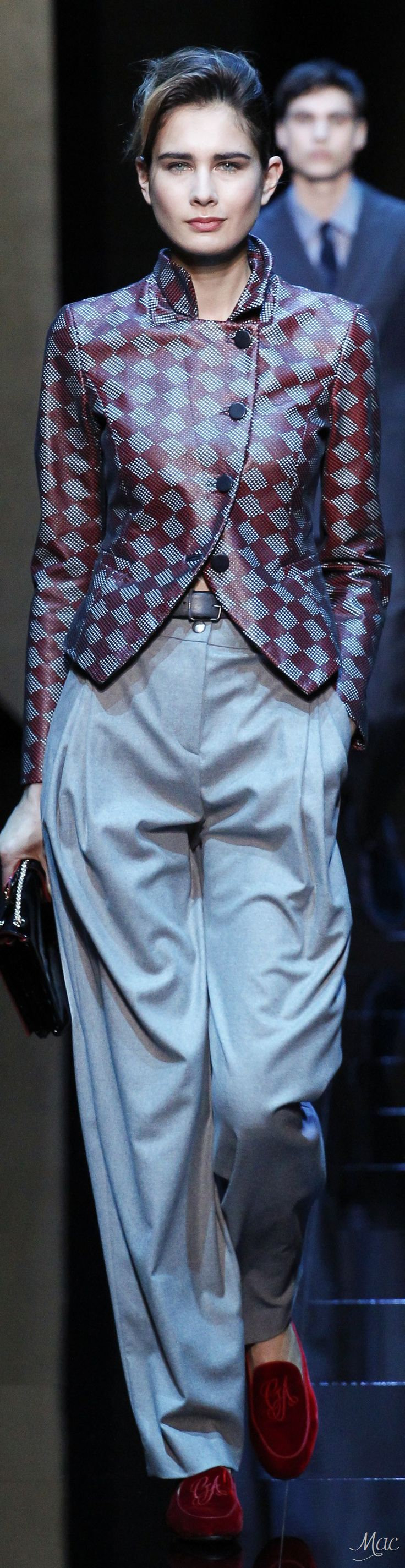 Fall 2017 RTW Collections Giorgio Armani - Menswear Collection
