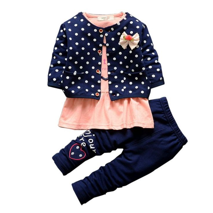 $8.33 (Buy here: https://alitems.com/g/1e8d114494ebda23ff8b16525dc3e8/?i=5&ulp=https%3A%2F%2Fwww.aliexpress.com%2Fitem%2F3PCS-Baby-Girl-Warm-Clothes-Shirt-Coat-Pants-Kids-Dot-Heart-Shaped-Outfits-Set%2F32738520377.html ) 3PCS Baby Girl Warm Clothes Shirt+Coat+Pants Kids Dot Heart-Shaped Outfits Set for just $8.33
