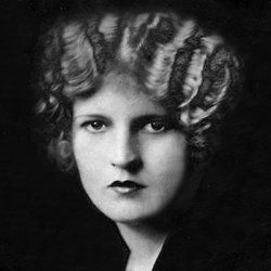 """Zelda Sayre Fitzgerald photographed for a magazine cover shortly after 'This Side of Paradise' was published.  She called this her """"Elizabeth Arden"""" face."""