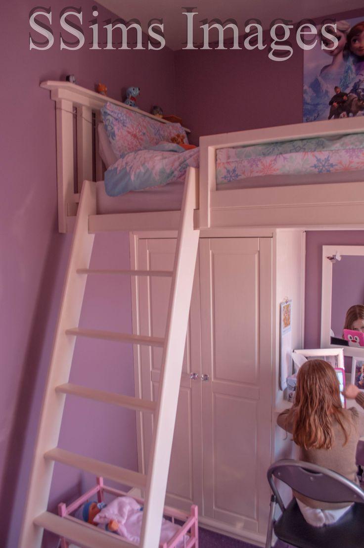 High sleeper loft style cabin bed with hideaway futon bed rutland - High Sleeper Bed In Small Box Room