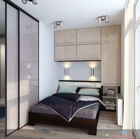 Küçük yatak odası mobilya fikirleri