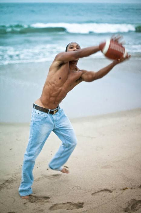 Singer, actor, model, ex-basketball player, Romeo Miller shirtless in a beach photoshoot done in 2015...