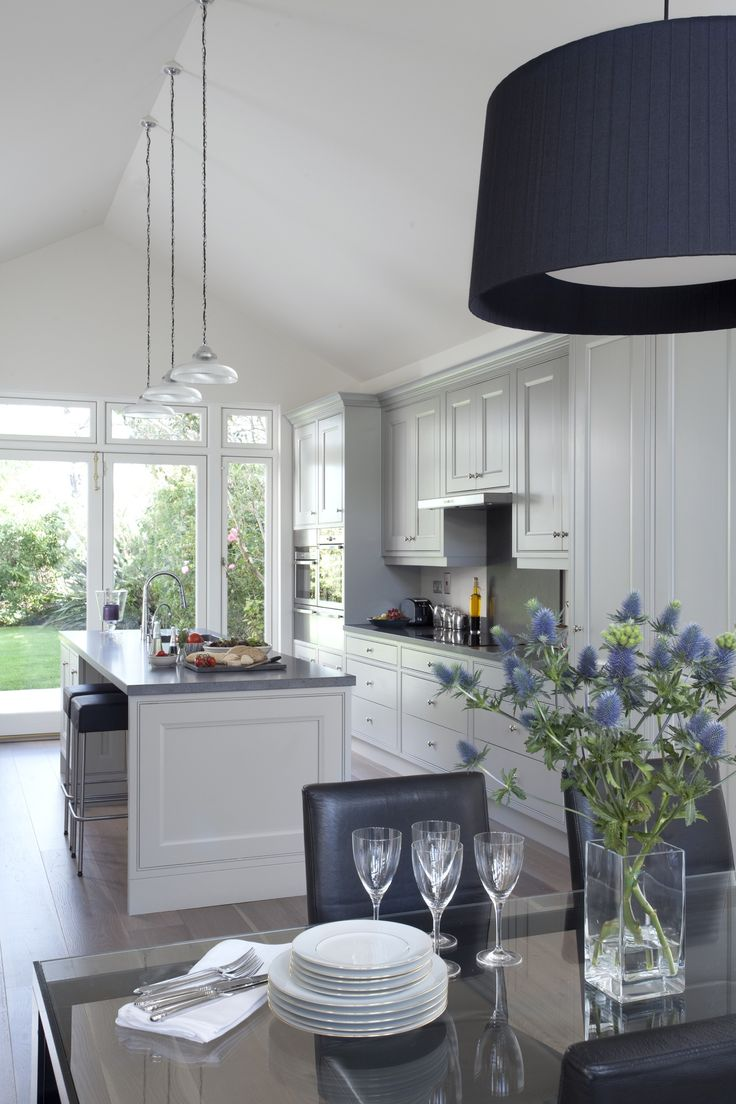 Trunk Flooring :: Soho Mist - perfect in this light, contemporary kitchen