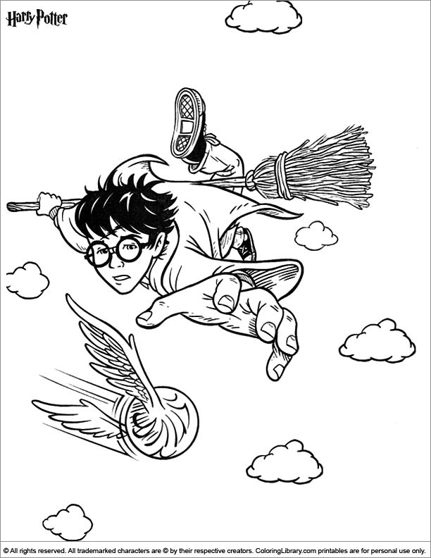 89 Harry Potter Printable Coloring Pages For Kids Find On Book Thousands Of