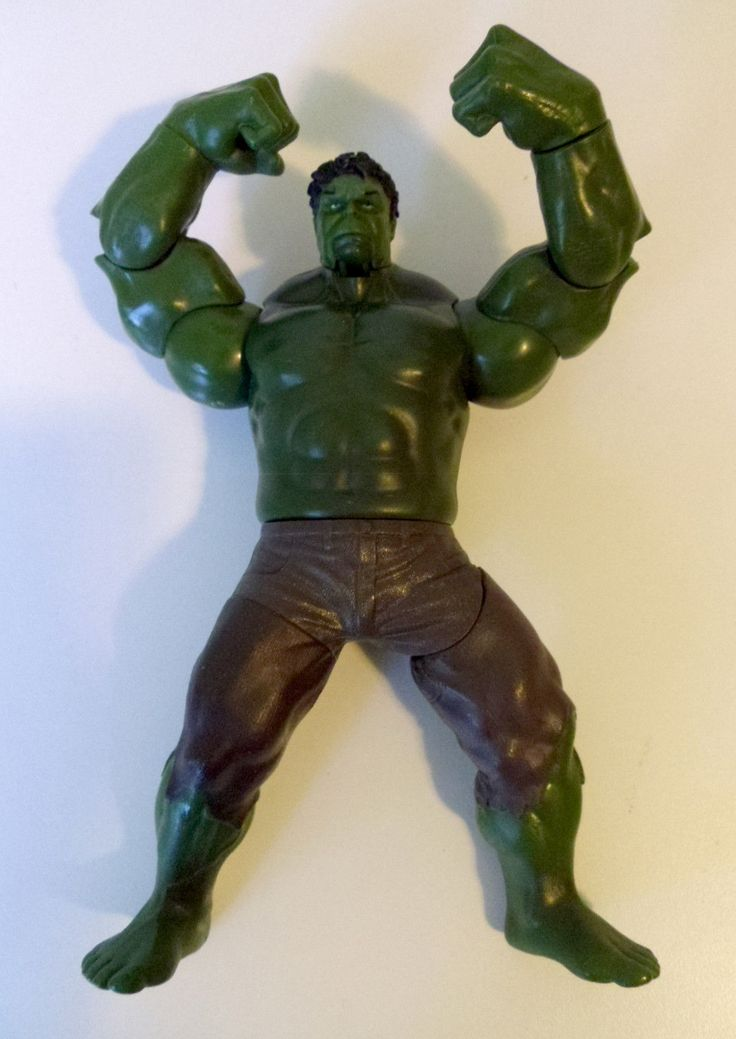 The Incredible Hulk Movie Action Figure Toy Marvel Avengers 2011 8