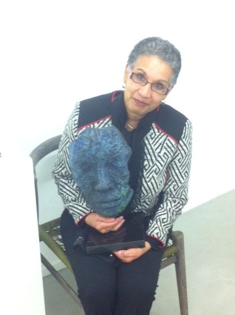 Me and one of Lionel Smit's Fragment sculptures. Mindblowing.