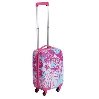 Ocean Pacific Floral Print 4 Wheel Suitcase £19.99 #suitcase #cabinfriendlysuitcase