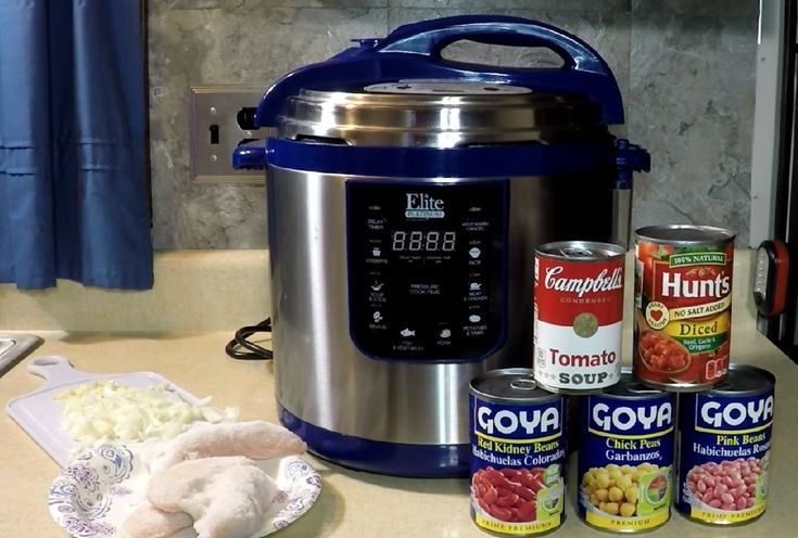 12 Minute Pressure Cooker Chicken Chili Elite                                                                                                                                                                                 More