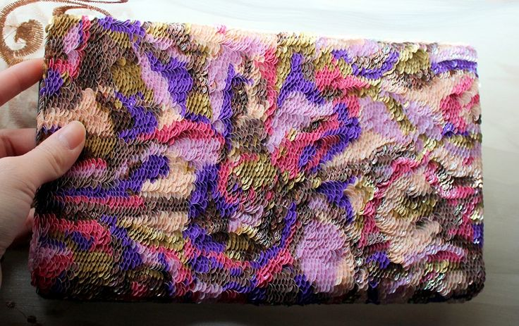Completed sequin bag (3)