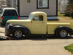 1941 RESTORED CHEVY PICKUP Red Deer - On a S-10 Chassis - $34k