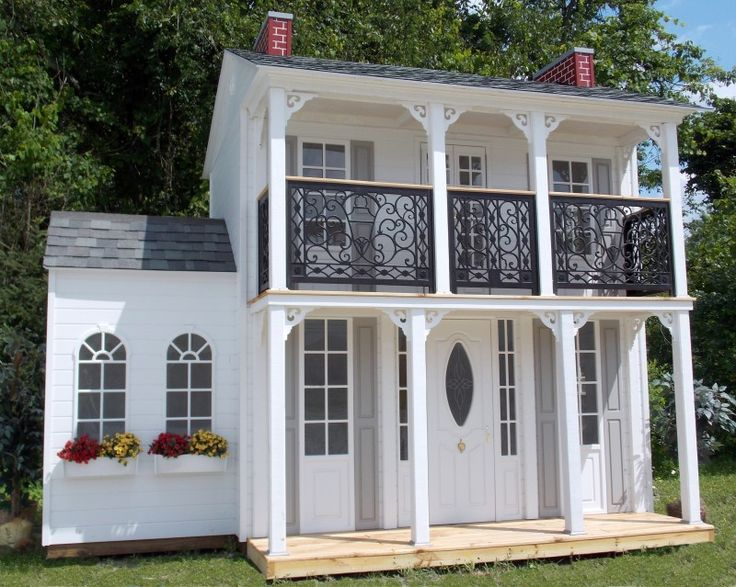 Childrens Play House For Sale Part - 31: Childrens Custom Playhouses| DIY Playhouse Plans | Lilliput