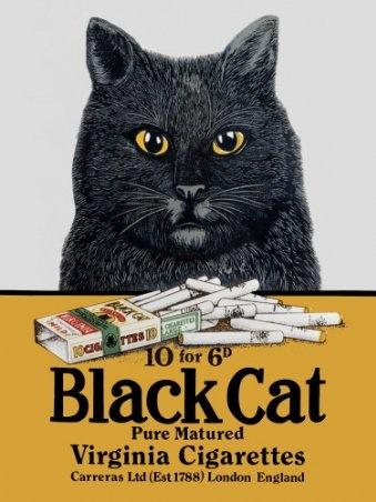 Black Cat tobacco: Cat Art, Cat People, Black Katzzzz, Adorable Black, Black Cats, Vintage Cats, Cat Cigarettes, Cat Ad S, Cat Virginia