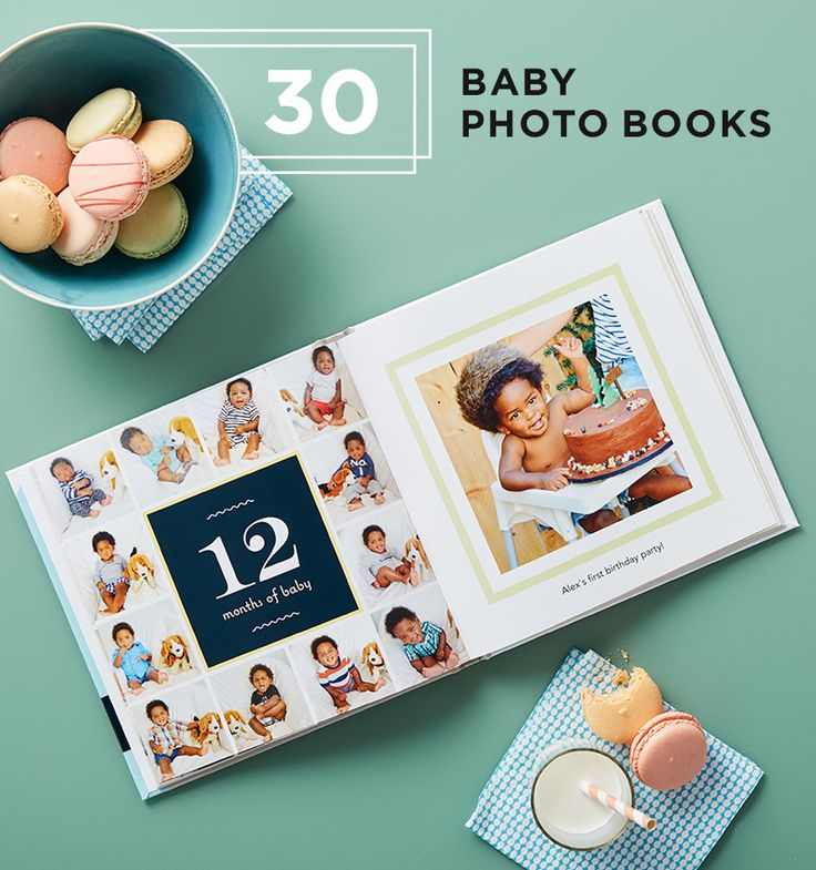 Find 30 baby photo book designs to capture every moment of their first years. Fill your pages with adorable memories you'll never forget. | Shutterfly