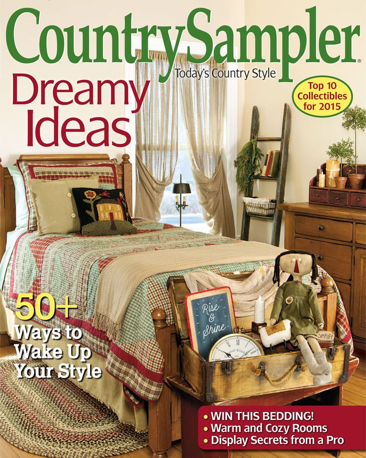 Decorating Ideas And Country Accessories In Our January 2015 Issue