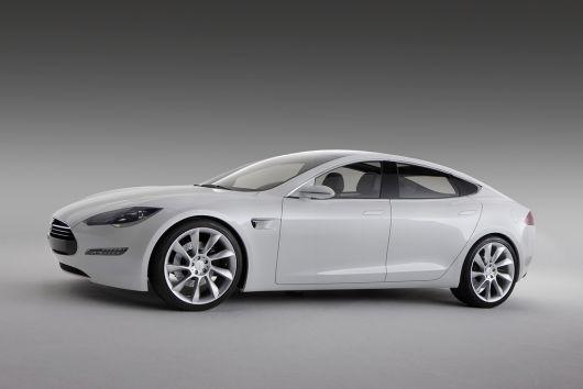 2009 Tesla Model S.
