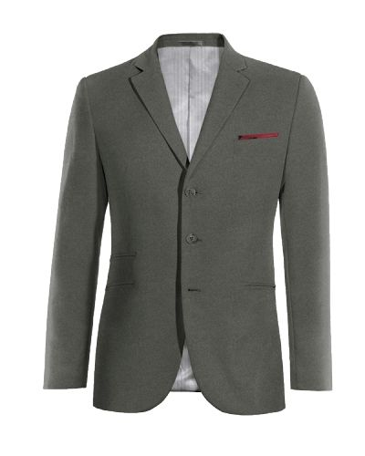 Grey cotton Blazer - http://www.tailor4less.com/en-us/men/blazers/3273-grey-cotton-blazer