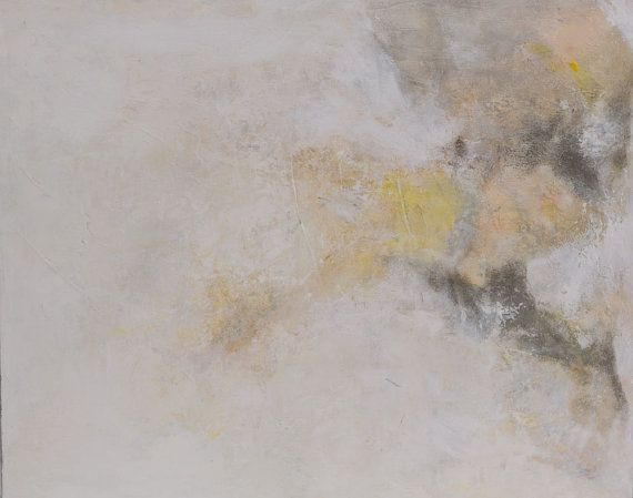 """20""""x16"""" light & metaphysical character abstract painting. Original acrylic and oil on high quality canvas. Misty moments 5"""