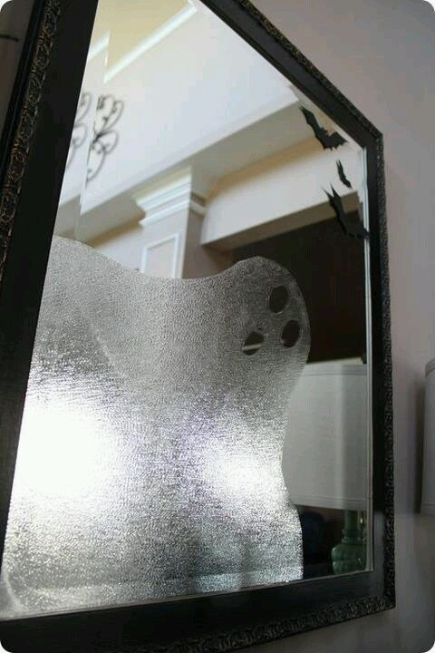 Contact paper ghost