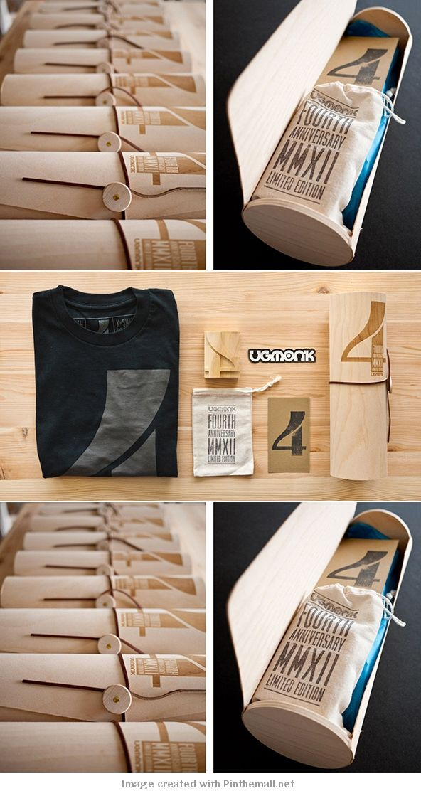 creative tshirt packaging design