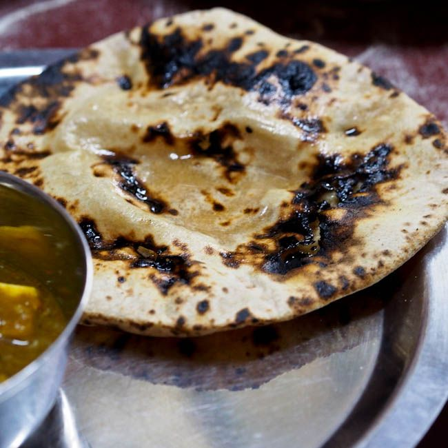 A classic #Indian bread - chapati - so easy to make and the perfect way to soak up all those rich and delicious curries.