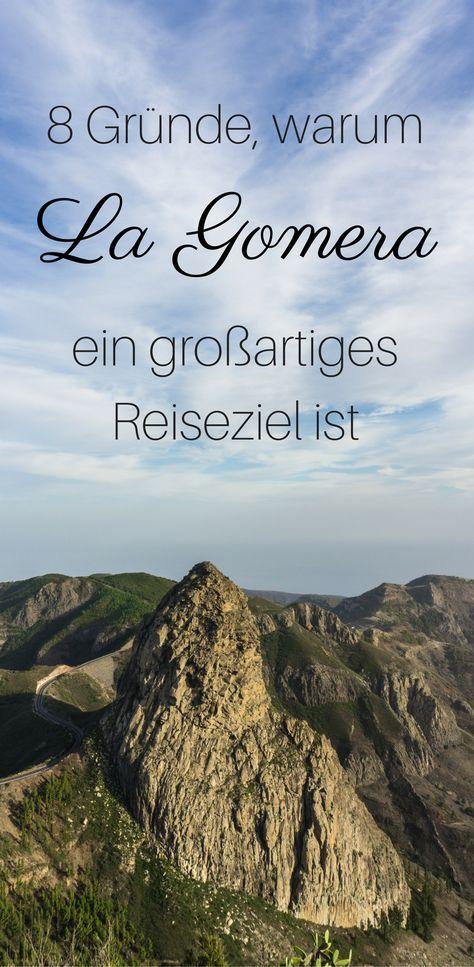 Acht Gründe, warum die keine kanarische Insel La Gomera ein großartiges Reiseziel ist