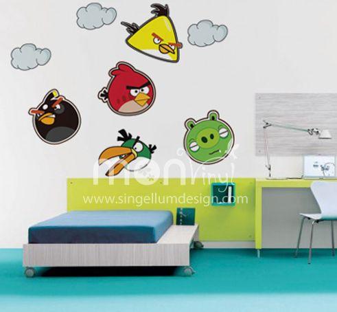 20 best vinilos infantiles images on pinterest stickers - Decoracion de paredes infantiles ...