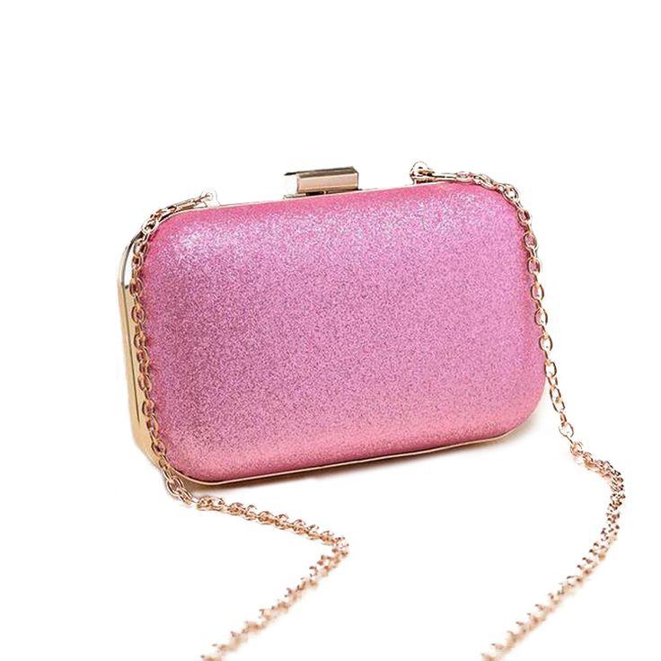 82866f0ed8c Luxury Women s Glitter Shoulder Clutch Bag