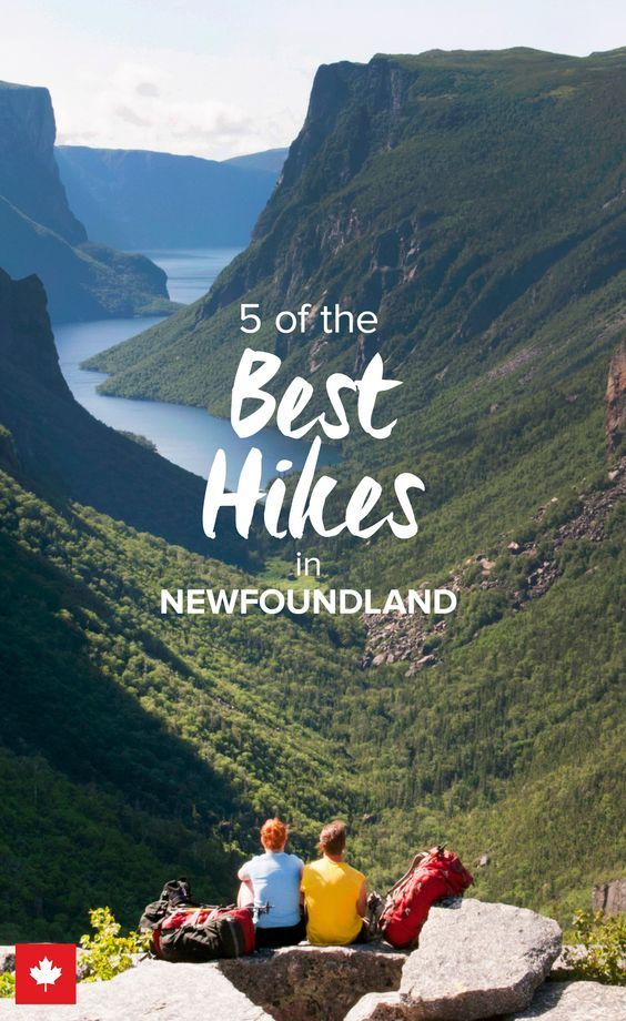"Lace up your hiking boots and prepare for some amazing hikes through the pristine nature of Newfoundland & Labrador in Canada. Hundreds of miles of hiking paths are yours to explore. Start with Gros Morne and Terra Nova National Parks, then hike the seaside on the East Coast Trail. Don't forget to pack a sleeping bag if you're planning to tackle the Labrador Pioneer Footpath. Use promocode ""PINME"" for 40% off all hammocks on maderaoutdoor.com"