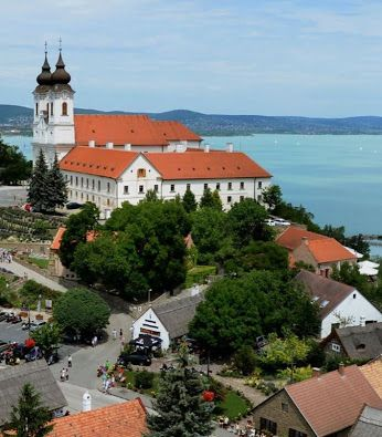 TIHANY, BALATON, HUNGARY