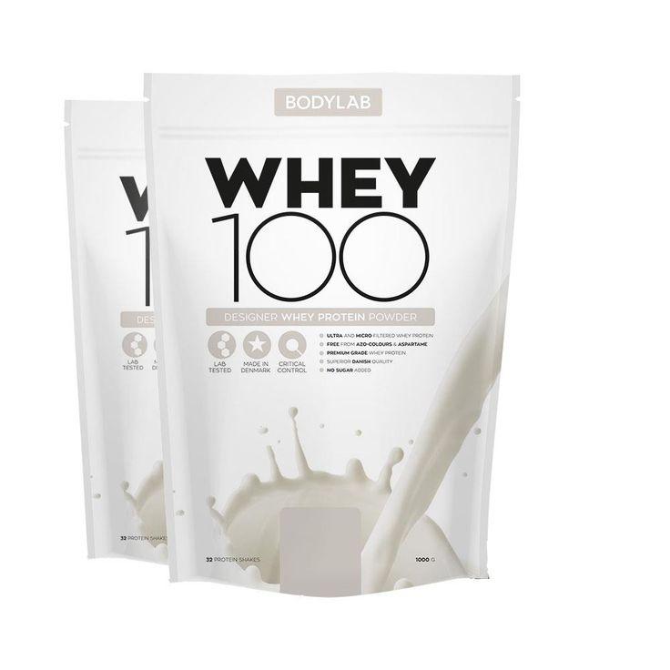 Bodylab Whey 100 (2 stk 300kr)   1 ) ULTIMATE CHOCOLATE  2) VANILLA MILKSHAKE