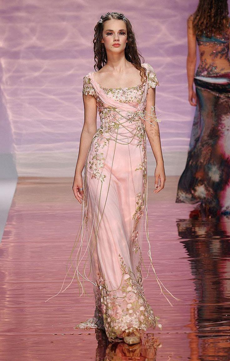 Mejores 36 imágenes de Pink en Pinterest | Alta costura, Moda rosada ...