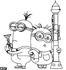 Image Result For Minion Colouring Pages Free Pdf