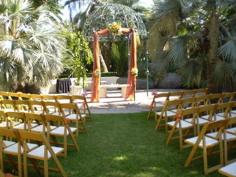 Garden Wedding Under The Gazebo On Mission Bay At Catamaran Resort Hotel And Spa In