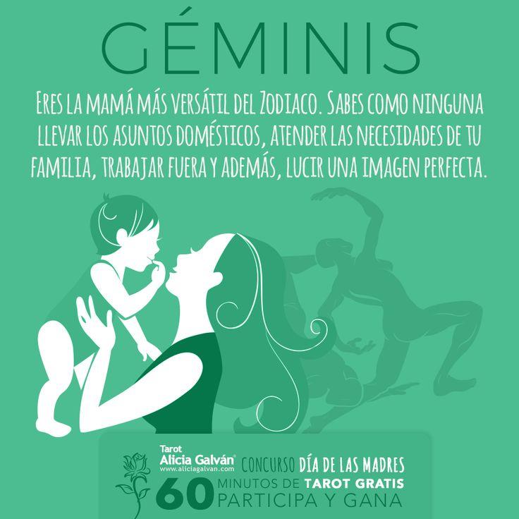 #Géminis ♊ ¿quieres una consulta de #Tarot Gratis? Pues no dejes de participar en nuestro Concurso del Día de las Madres. Tú podrías ser la ganadora. Registrate aquí: