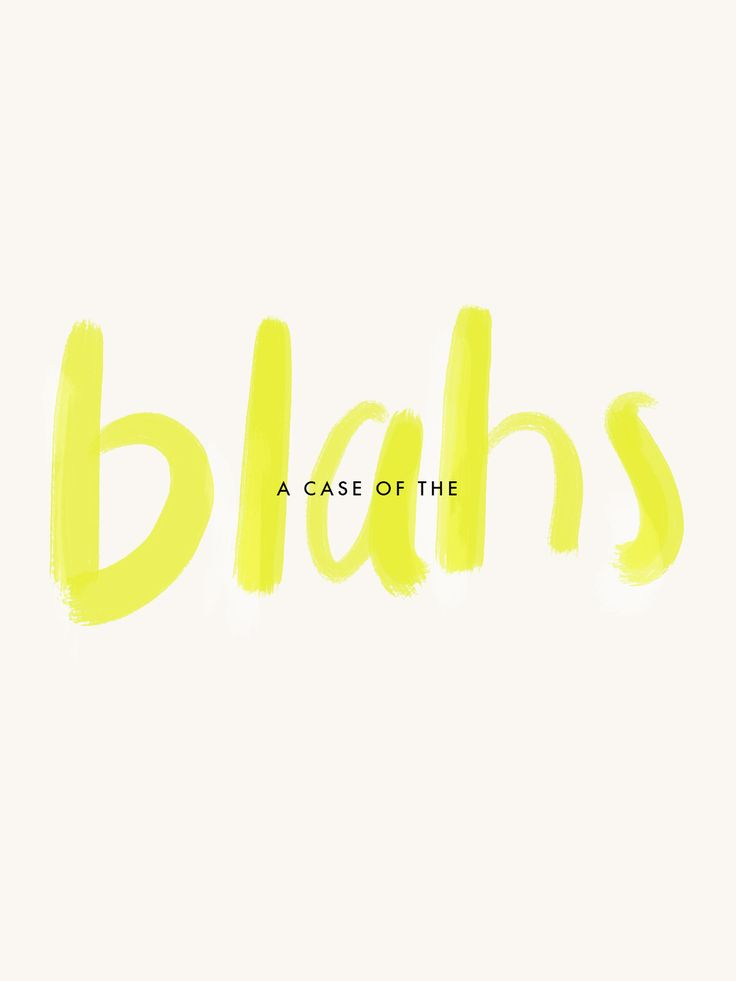 A case of the blahs- by Jamie Bartlett from A Pair of Pears