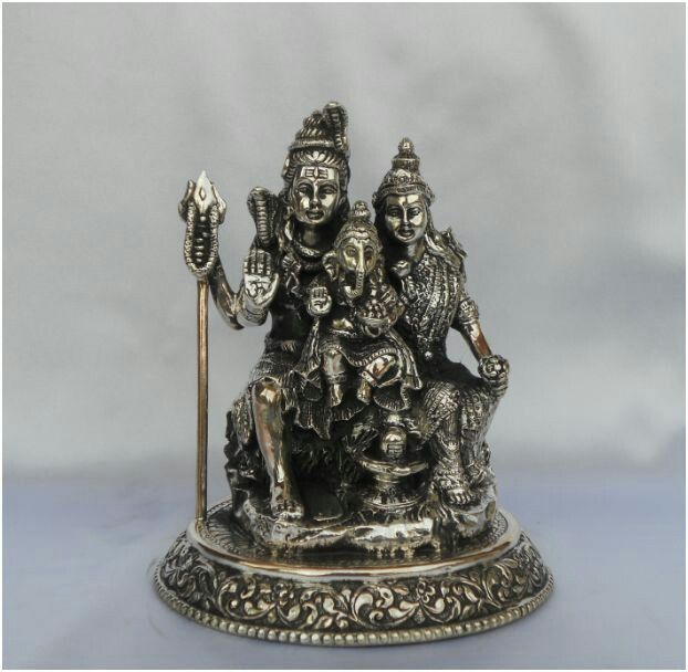 Shiv parwati and ganesh ji