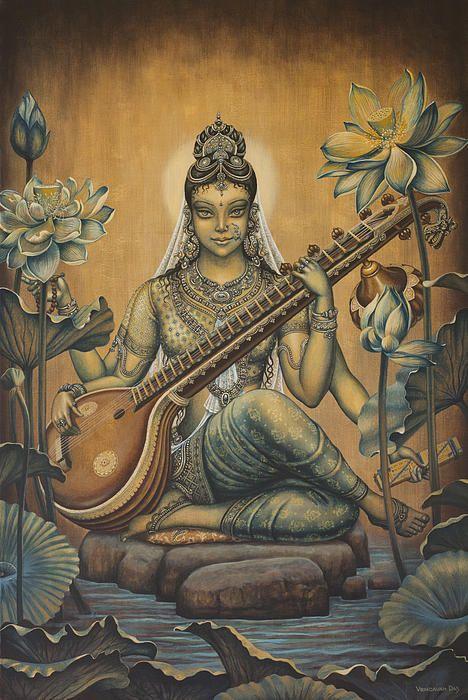 sarswathi god