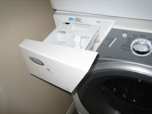 He Detergent - How to Use He Detergent to an He Washer, where to put the he detergent in an he washer; about he detergent in an he washer; where to put the he detergent