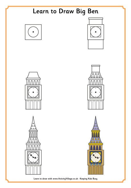 big ben doodle - photo #24