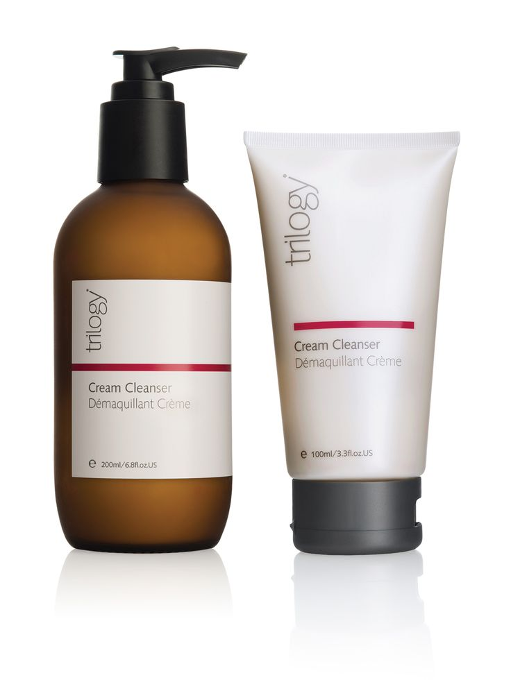 Trilogy Cream Cleanser. One simple step.  Available in a stylish 200ml pump or handy 100ml tube. https://www.trilogyproducts.com/products/cream-cleanser-200ml/