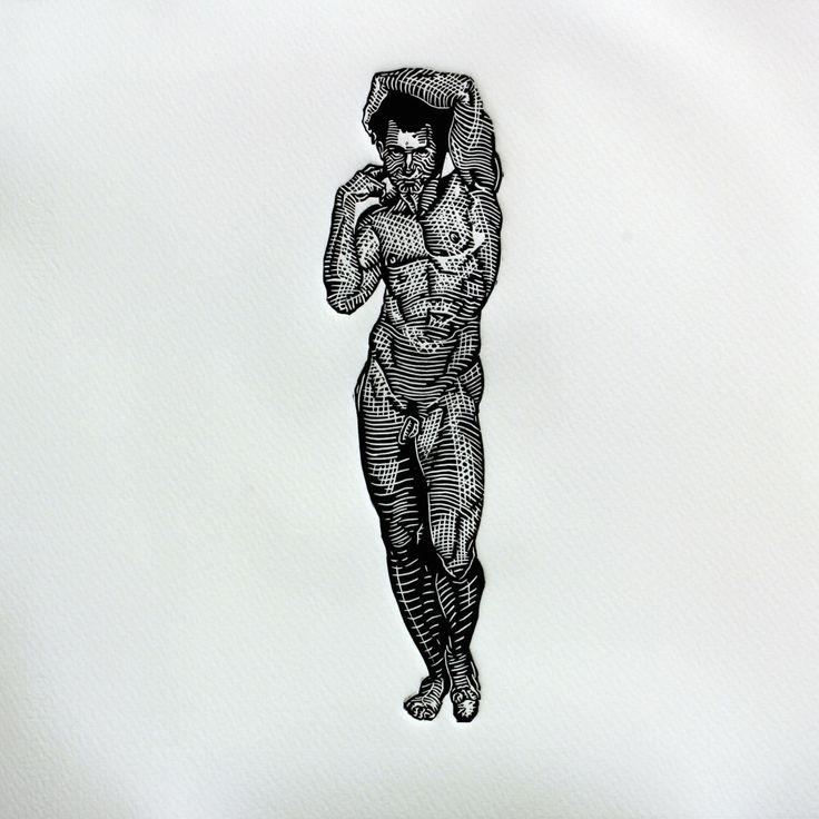 A personal favorite from my Etsy shop https://www.etsy.com/es/listing/222520816/el-por-roy-barba-edicion-de-30 roy barba, printmaking print making, linocut, linoleum, etching, anatomy, art, arte, grabado, linoleo, woodcut