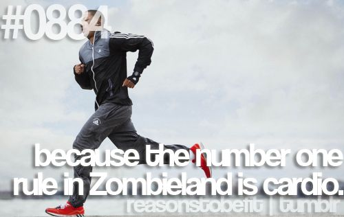 cardio. Number one rule