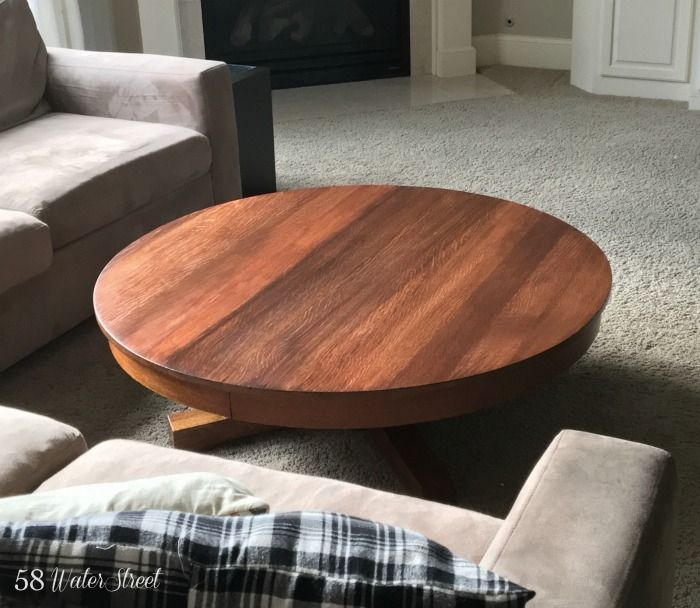 Awesome Table In Layers Of Brown Mahogony U0026 Java. Gel StainsStain ColorsPedestal  ...