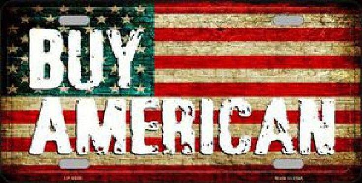 Buy American Flag Tag License Plate