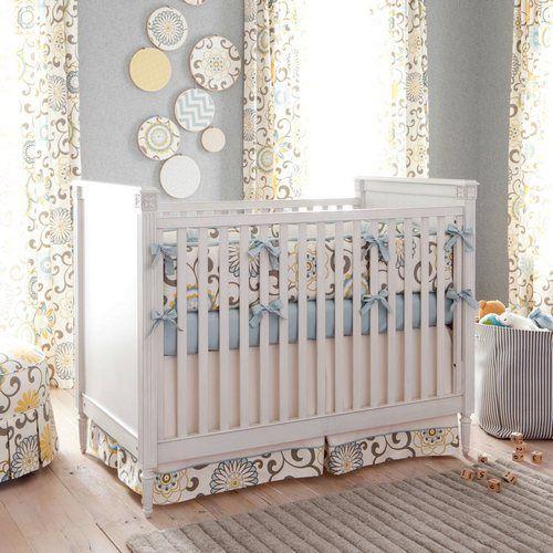 Spa Pom Pon Play Crib Bedding   Carousel Designs